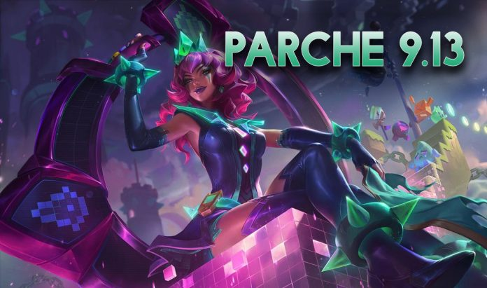 Parche 9.13 de League of Legends