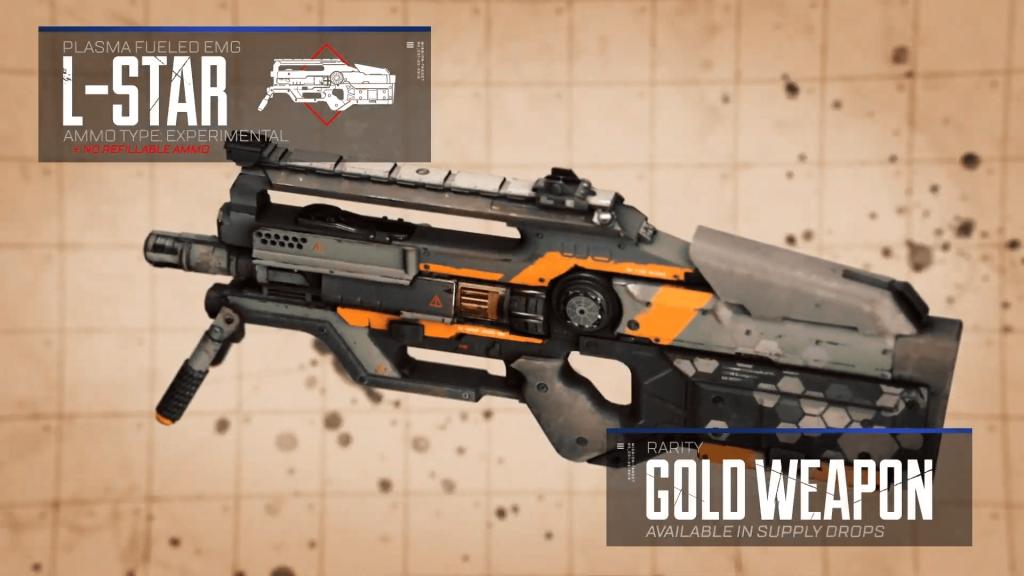 La nueva arma disponible en la segunda temporada de Apex Legends.