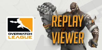 Replay Viewer de la Overwatch League.