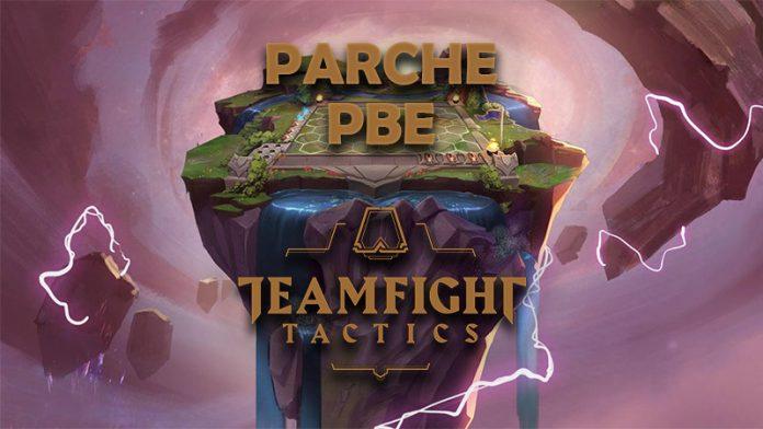 Parche del PBE para Teamfight Tactics