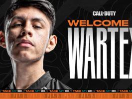 Wartex, nuevo jugador de Call of Duty para Team Heretics