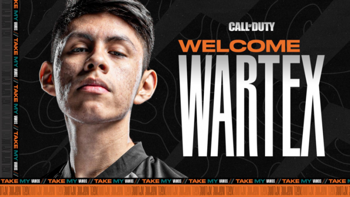 Wartex, nuevo jugador de Call of Duty para Team Heretics