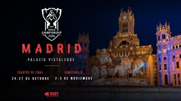 Los Worlds 2019 de League of Legends tendrán parada en Madrid