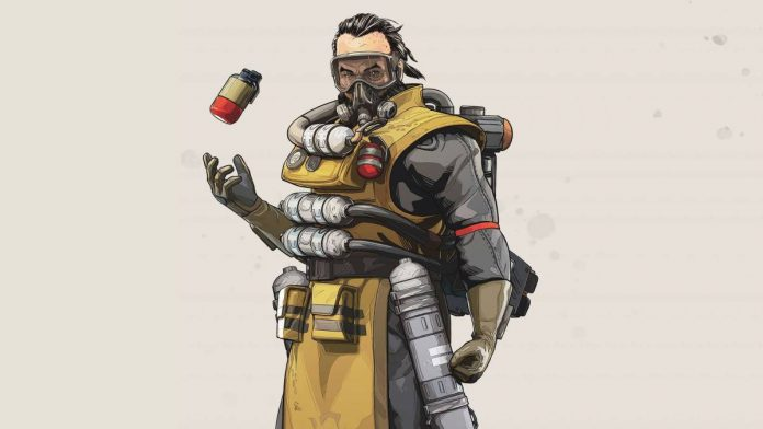 Caustic de Apex Legends.