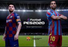 Messi y Ronaldinho en eFootball PES 2020