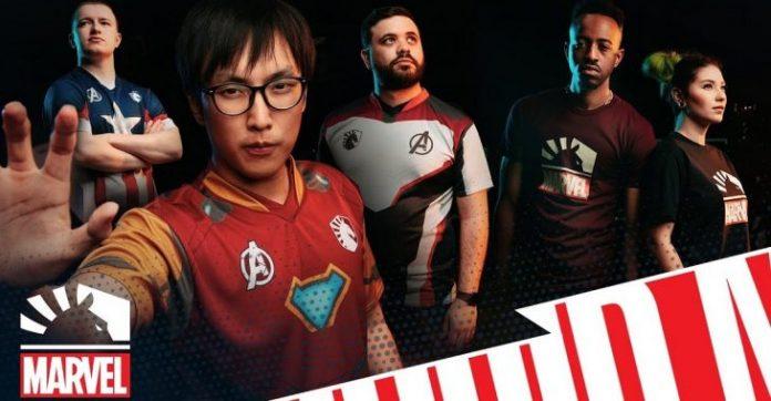 Team Liquid y Marvel llegan a un acuerdo para sacar una colección inspirada en los Vengadores