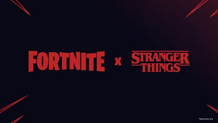 Acuerdo entre Fortnite y Stranger Things