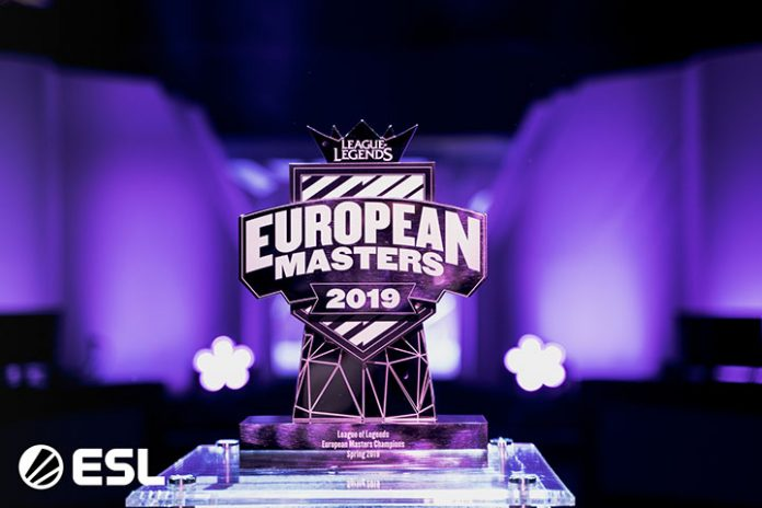 Trofeo European Masters 2019