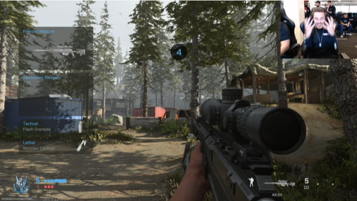 gameplay de Modern Warfare
