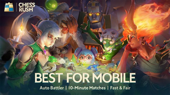 Chess Rush, el Auto Chess de Tencent