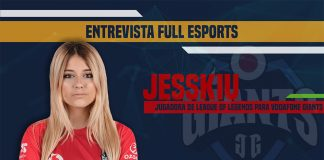 Entrevista a Jesskiu, jugadora de League of Legends para Vodafone Giants