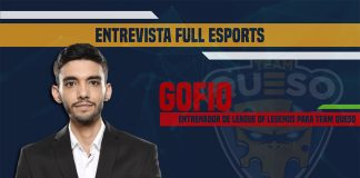 Entrevista a Gofio, Head Coach de Team Queso