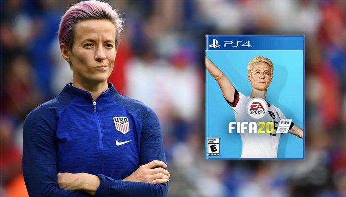 Petición para que Mega Rapinoe sea portada de FIFA 20