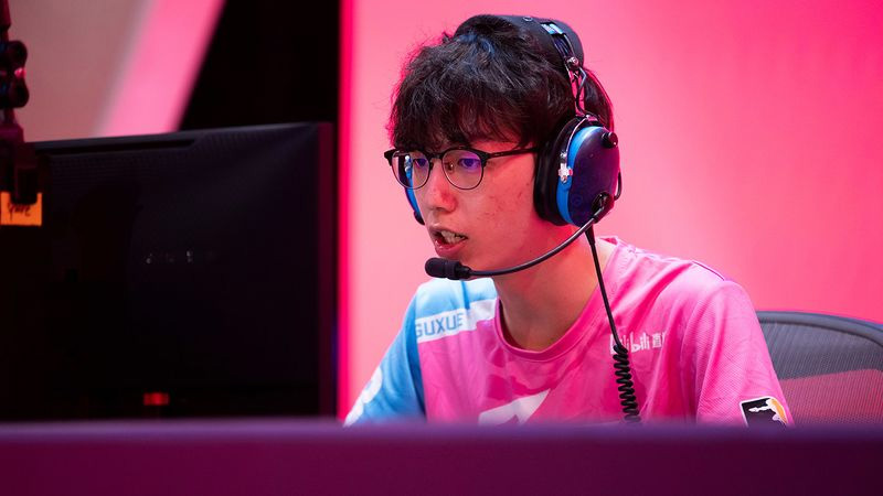 Guxue, jugador de Hangzhou Spark