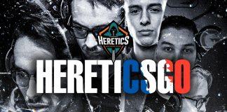 Team Heretics presenta su nuevo roster francés de de CS:GO