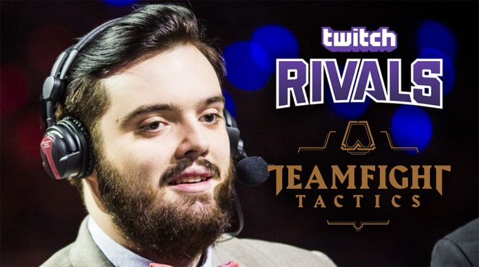 Ibai se clasifica para las finales del Twitch Rivals Teamfight Tactics Showdown