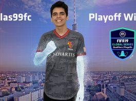 Nicolas99fc, campeón de playoffs de PS4 de FIFA