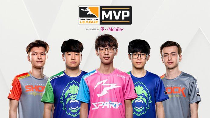 La Overwatch League ha desvelado los cinco candidatos para el premio MVP