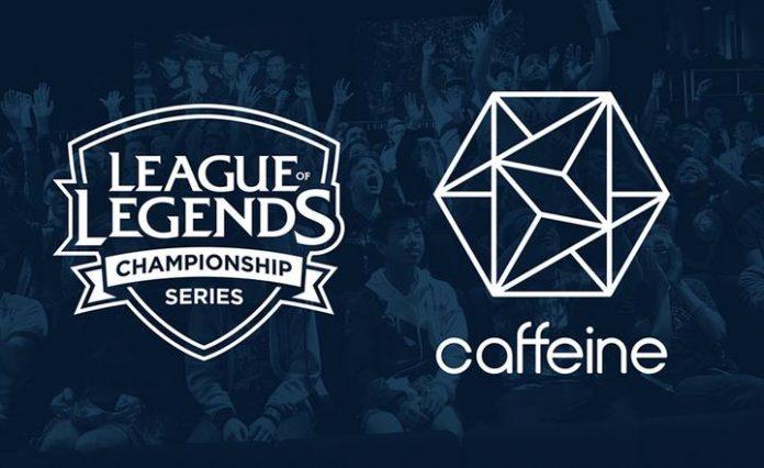 Desde ya podremos ver la LCS en Caffeine