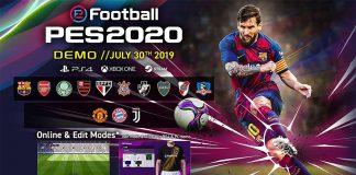 eFootball PES 2020 novedades con los 14 equipos de la demo