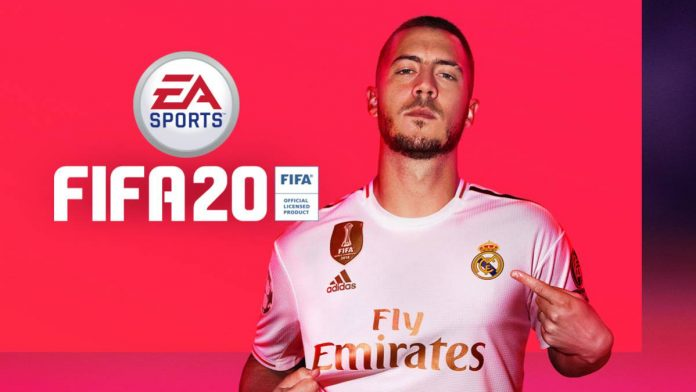 Portada FIFA 20 Hazard