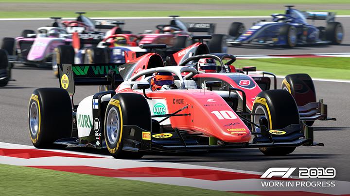 F2 en F1 2019
