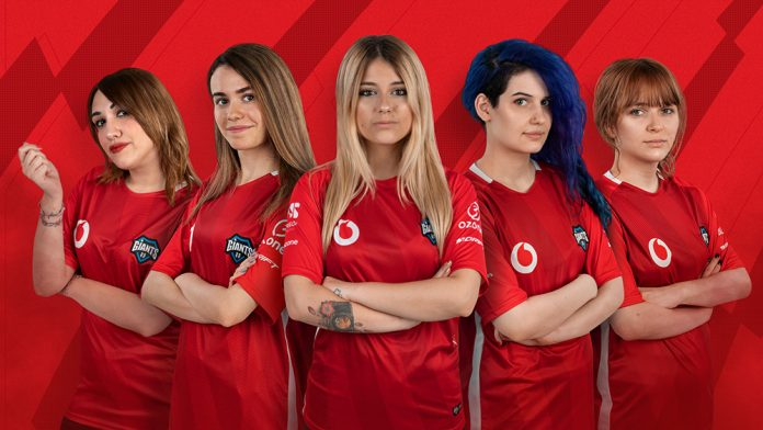 Vodafone Giants presenta su nuevo equipo de League of Legends femenino