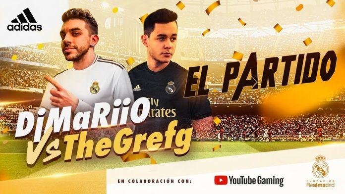 DjMaRiiO vs Grefg en el Bernabéu