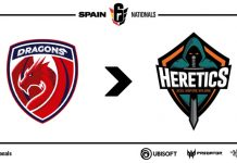 Dragons EC cambia a Team Heretics R6