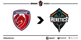 Dragons EC cambia a Team Heretics R6