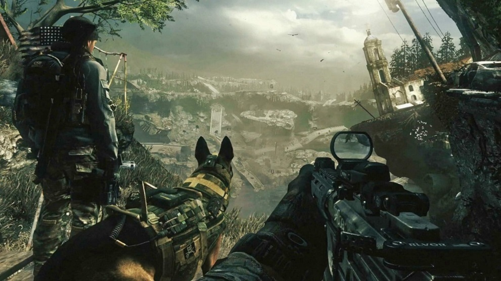 Imagen in-game del Call of Duty Ghost