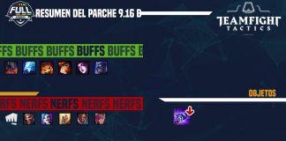 Parche 9.16B de Teamfight Tactics