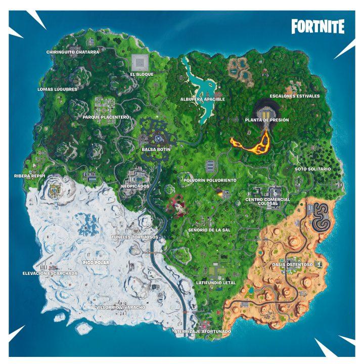 Mapa temporada 10