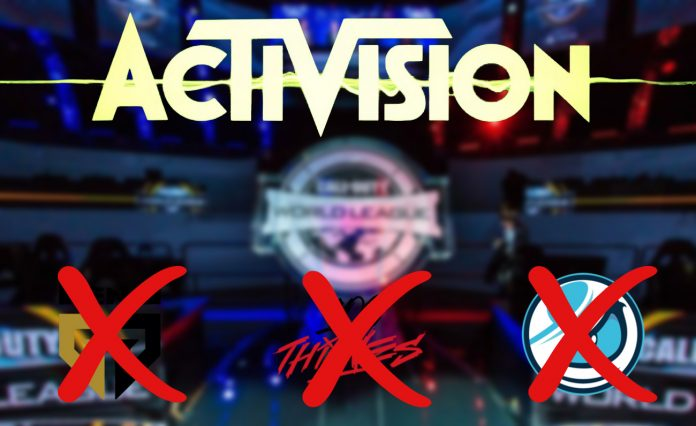 100 Thieves se une a Gen.G y Luminosity en la lista de equipos fuera de la Call of Duty League.
