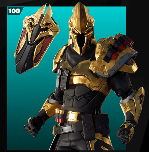 Skin nivel 100