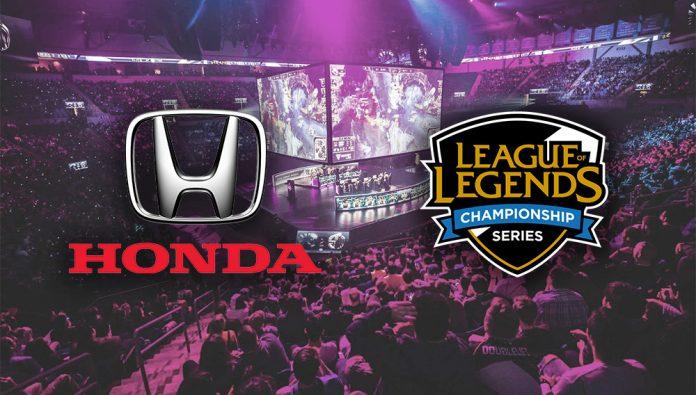 Honda y LCS firman un acuerdo de patrocinio