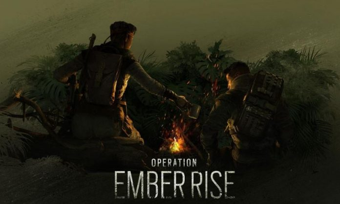 Operation Ember Rise Rainbow Six promocional