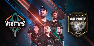 Team Heretics en la CWL Championship 2019 de CoD