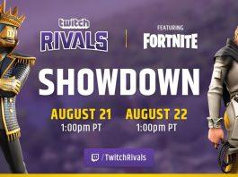 Twitch Rivals Fortnite Showdown