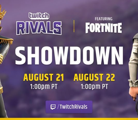 Twitch Rivals Fortnite Showdown