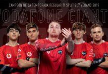 Vodafone Giants campeones temporada regular Superliga Orange Verano 2019