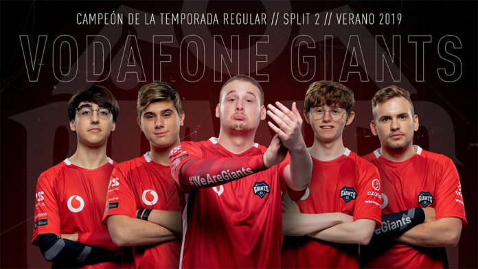 Vodafone Giants campeones temporada regular Superliga Orange Verano 2019