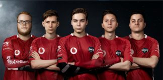 Nuevo roster de Rainbow Six de Vodafone Giants