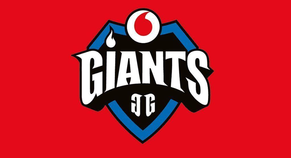 Logo de Vodafone Giants