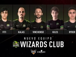 Wizards Esports Club participará en la Superliga Orange de CS:GO