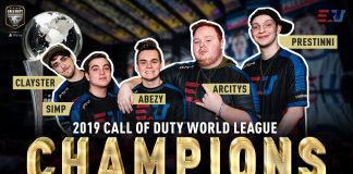 EUnited es el campeón del mundo de Call of Duty 2019