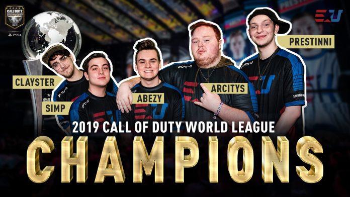 EUnited es el campeón del mundo de Call of Duty 2019