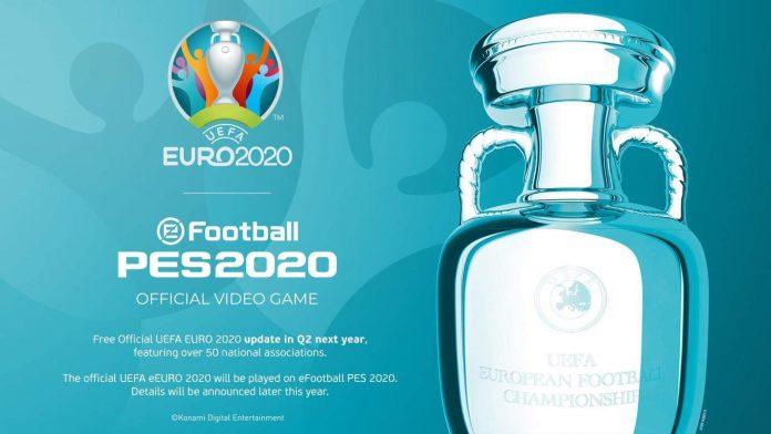 la UEFA Euro 2020 llega a eFootball PES 2020