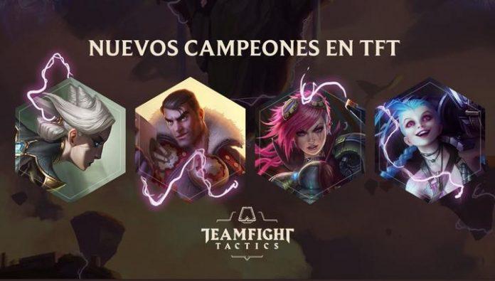Los campeones del Piltover llegan a Teamfight Tactics