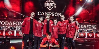 Vodafone Giants, campeón de la Superliga Orange de League of Legends